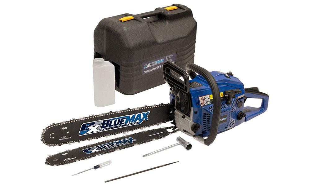 Blue Max 8902 Dual Bar Chainsaw Review - An Innovative Saw