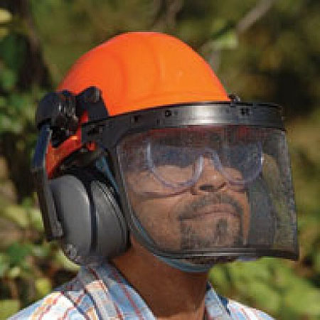 58d7a442 Best Rated Chainsaw Safety Helmets 2019 - Top Seven Reviews