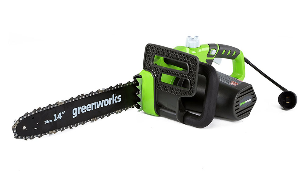 Greenworks 20222 14 inch corded chainsaw review a saw for anyone greentooth Images