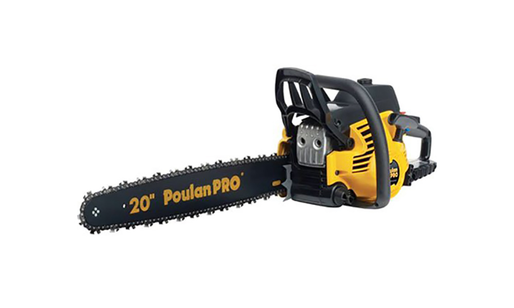 Poulan pro pp5020av gas chainsaw review its all in the blade buy now on amazon greentooth